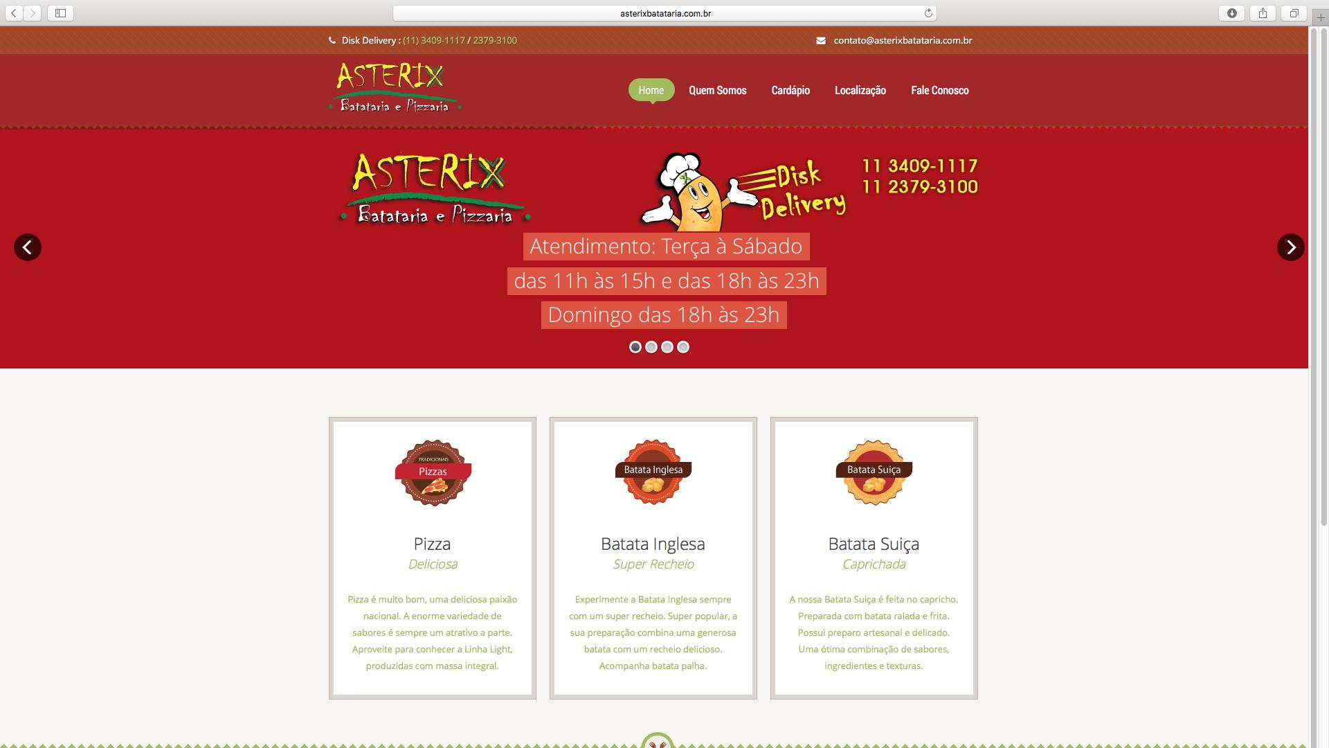 Asterix Batataria e Pizzaria